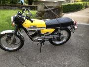 YAMAHA rs125 dx - 1976